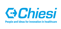 Logo Chiesi. People and ideas for innovation in healthcare.