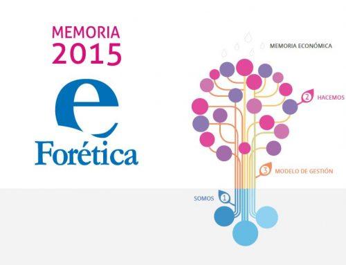 Memoria Forética 2015