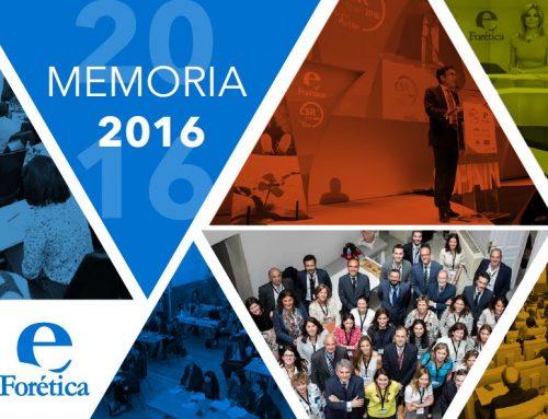 Memoria Forética 2016