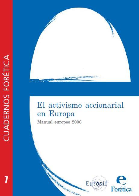 Cuaderno Forética 7. Activismo Accionarial