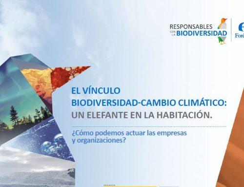 El vínculo biodiversidad-cambio climático. Un elefante en la habitación (2016)