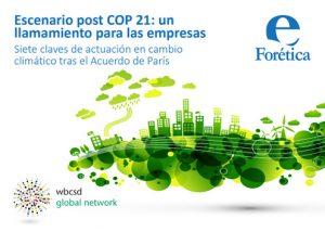 Portada Escenario post COP 21