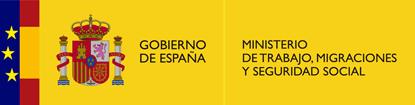Logo de Trabajo, Migración, y seguridad social