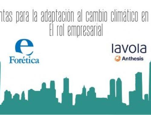 Seminario Online: Herramientas para la adaptación al cambio climático en ciudades. El rol empresarial