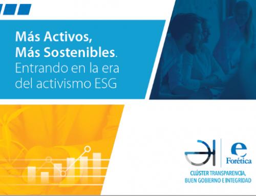 Más Activos, Más Sostenibles. Entrando en la era del activismo ESG