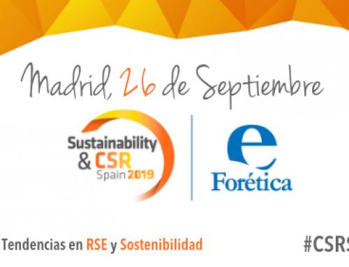 Forética reúne las tendencias internacionales más destacadas en RSE y Sostenibilidad en el foro Sustainability & CSR Spain