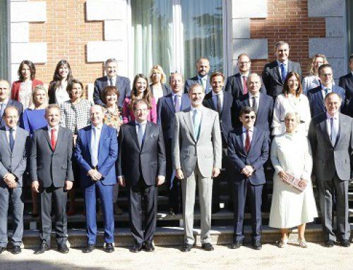 S.M. el Rey Felipe VI recibe en audiencia a Forética