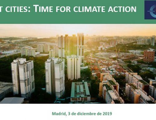 Ciudades resilientes y acción climática, sesión de Forética en la COP25