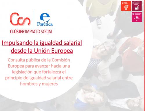 Impulsando la igualdad salarial desde la Unión Europea