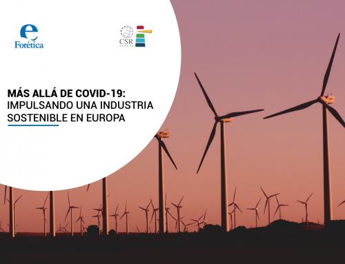 Más allá del COVID-19: Impulsando una industria sostenible en Europa