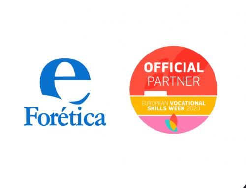 Forética en la Semana Europea de la Formación Profesional 2020