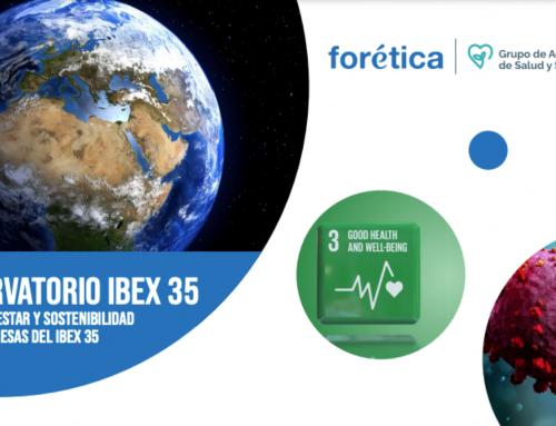 Observatorio IBEX 35. Salud, bienestar y sostenibilidad en las empresas del IBEX 35